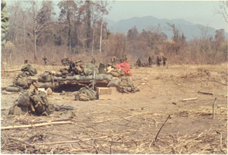 Plei Trap Home away from Home Vietnam 1969 Army